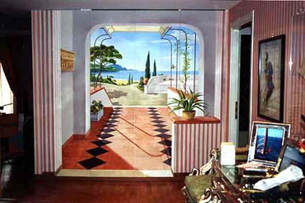 trompe l 39 oeil roberto taito. Black Bedroom Furniture Sets. Home Design Ideas